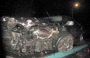 BMW eismo nelaime