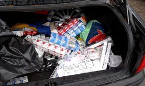 cigaretes kontrabanda bagazineje