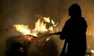 gaisras lavonas