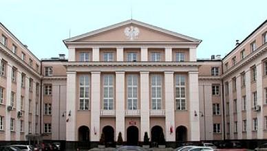 Lenkijos aukščiausiosios audito institucijos rūmai Varšuvoje