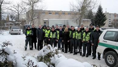 lietuvos ir latvijos policija