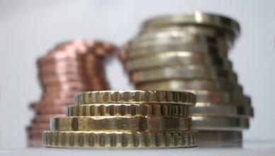 pinigai monetos