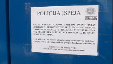 policija utena turgelis