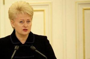 prezidentė Grybauskaitė