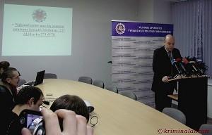 Vilniaus apskr. VPK viršininkas Kęstutis Lančinskas
