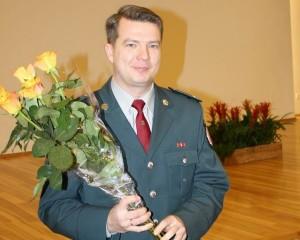 Trakų r. PK viršininkas Valerijus Vincukevičius