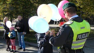 policija vaikai