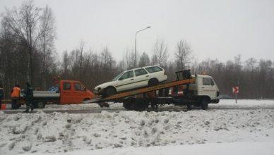 slidus kelias avarija