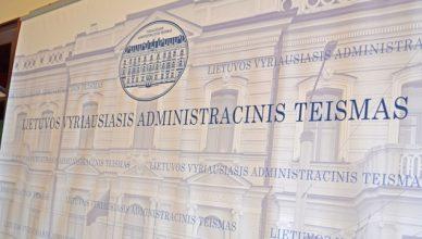 administracinis teismas