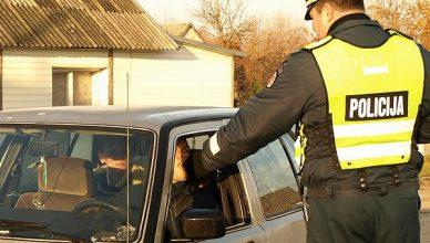 policija alkotesteris