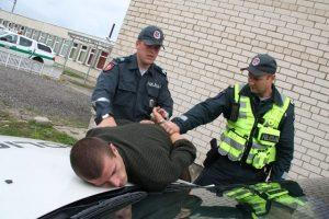 pasipriesinimas policija
