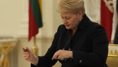 prezidente Grybauskaite