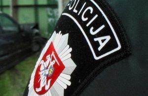 policija rankove zenklas