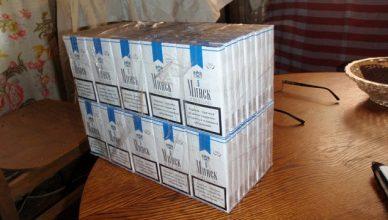 kontrabandines cigaretes minsk