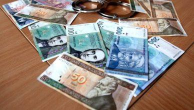 antrankiai pinigai