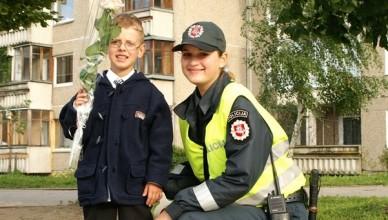 Policijos rugsėjo pirmoji