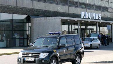 Kauno oro uosto pasieniečiai