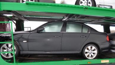 """Prie sienos su Lenkija sulaikytas Italijoje pavogtas """"BMW 330XD"""""""