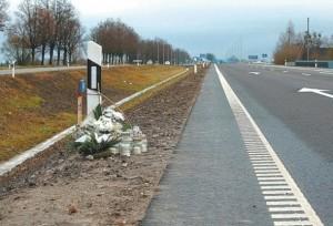 keliuose žuvo