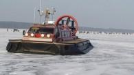 """Trijų institucijų ant Kuršių marių ledo surengto reido metu nustatyta 15 žvejybos taisyklių pažeidimų. KetvirtadienįVSAT Pakrančių apsaugos rinktinės laivo ant oro pagalvės """"Viesulas"""" įgula dalyvavo reide ant Kuršių marių. Jo..."""