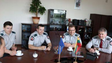 policijos pareigunai