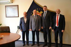 civilinės saugos ir ekstremaliųjų situacijų tarnybos delegacija