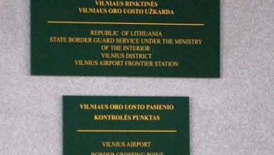 oro uosto kontroles punktas