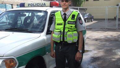 policijos mokyklos kursantas