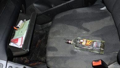 Apsvaigęs nuo alkoholio beteisis vairuotojas
