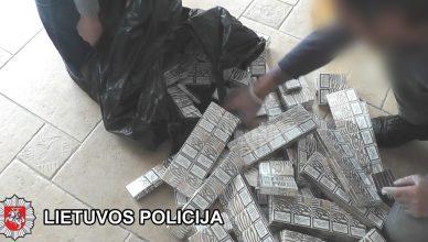 kokaino kontrabandininkai