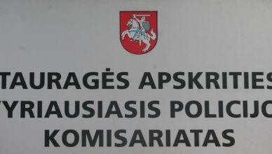 Tauragės VPK paros įvykių suvestinė 2017-06-28